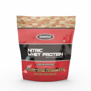 NITRIC WHEY PROTEIN Protein - BIG MUSCLES NUTRITION