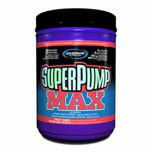 PUMB/ SuperPump MAX GAINERS - GASPARI