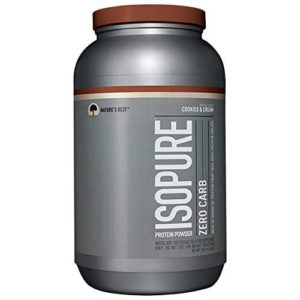 Isopure Whey Zero Carb Protein - Nature's Best