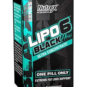 LIPO6 BLACK Hers Fat Burners - NUTREX