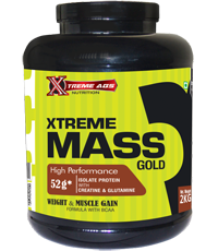 MASS GAINERS – XTREAME ABS NUTRITION