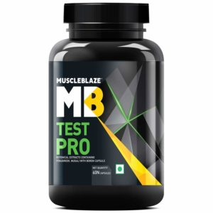 Test Pro(Natural Testosterone Booster) Testosterone Booster - MUSCLE BLAZE