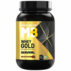 WHEY GOLD Protein - MUSCLE BLAZE