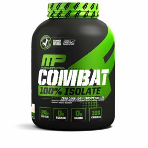 Combat 100% Isolate Protein - MUSCLE PHARM
