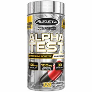 ALPHA TEST Testosterone Booster - MUSCLETECH
