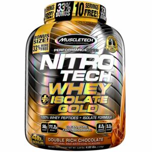 NITRO-TECH WHEY PLUS ISOLATE GOLD Protein - MUSCLETECH