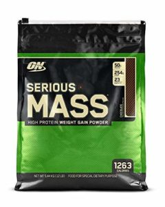 SERIOUS MASS GAINERS – ON