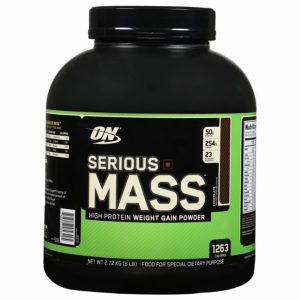 SERIOUS MASS GAINERS - ON