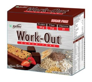 Work-Out Bar Sugar Free Meal Replacement – RITE BITE