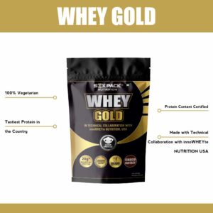 WHEY GOLD Protein - SIX PACK NUTRITION
