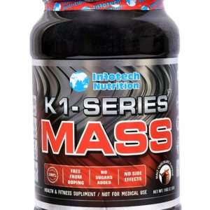 K1 SERIES MASS GAINERS - INFOTECH  NUTRITION